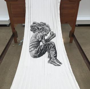Bedding (detail)
