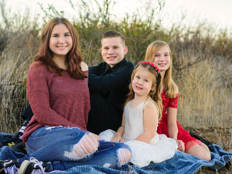 Sibling Love: Family Photography in Menifee, California