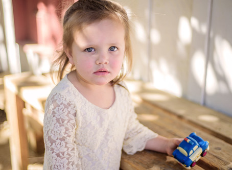 Terrifyingly Two: Children's Portrait Sessions at Vail HQ in Temecula, California