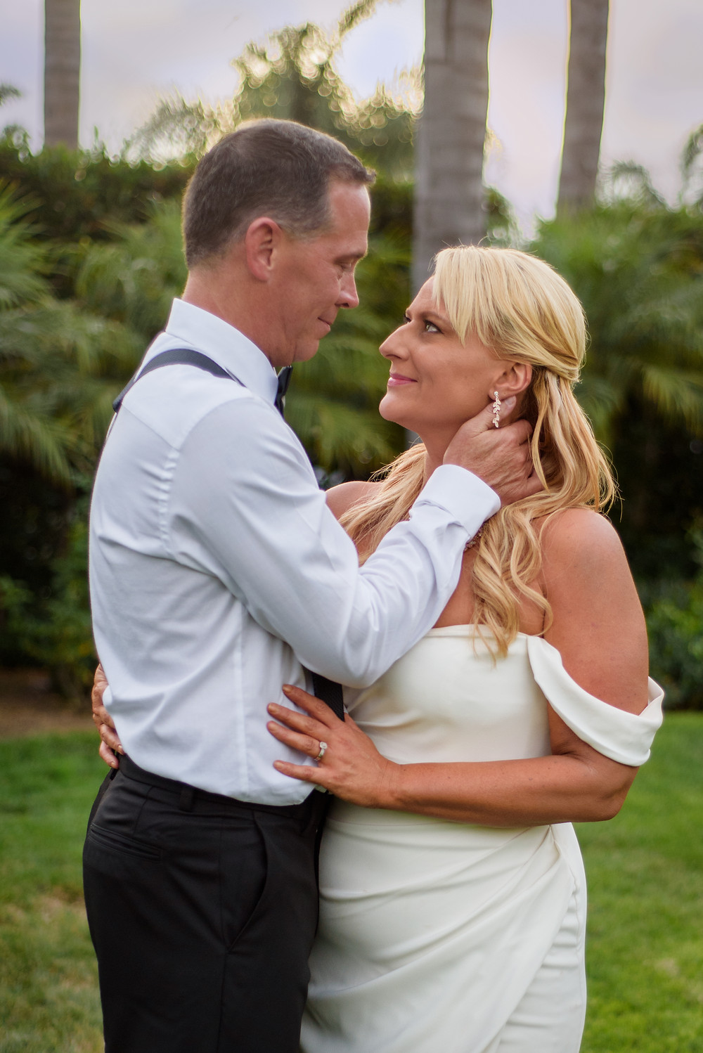 Seattle Couple celebrating their wedding, elopement style at the Westin Resort Carlsbad