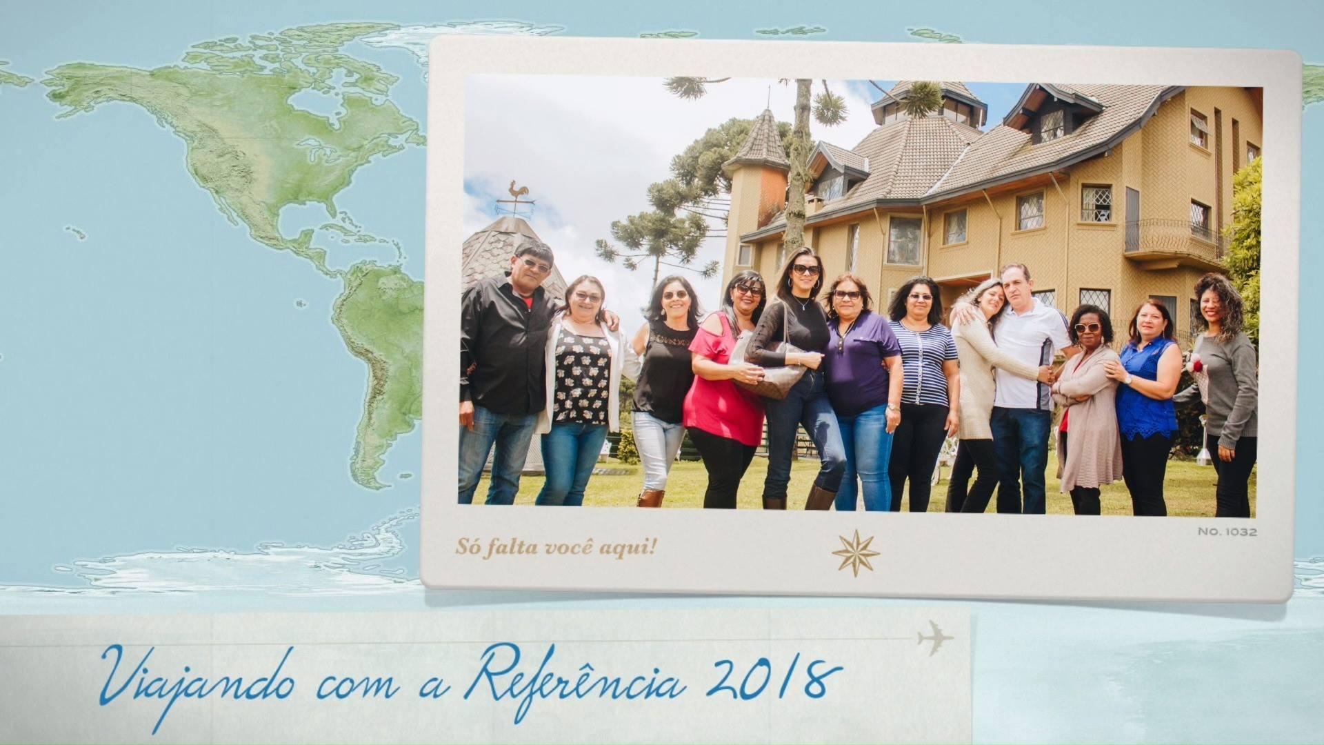 Viajando com a Referência 2018