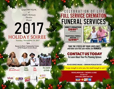 SMALLS MORTUARY CHRISTMAS PROGRAM Outsid