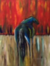 'War Horse' Original Painting