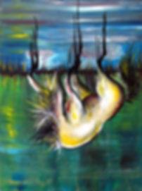 'Fallen' Original painting