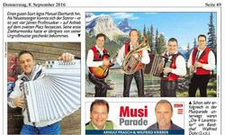 2016 Sept.   Kronen Zeitung