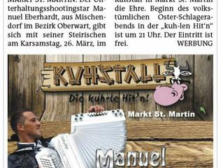 Liveinterview im Kuhstall
