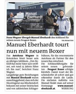 2015 Nov.   Bezirksblatt Oberwart
