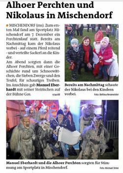 2015 Dezember  Bezirksblatt Oberwart