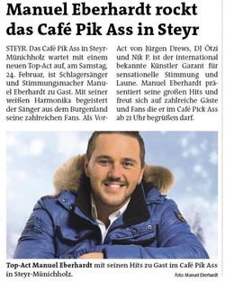2018 Jan.   Bezirksblatt Steyr
