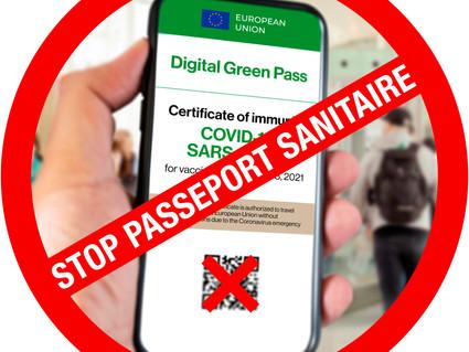 Un nouveau référendum : NON au certificat sanitaire !