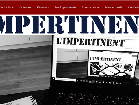 Interview dans l'Impertinent Média