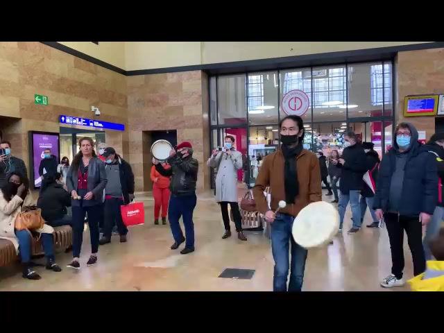 A Genève, une flashmob si flamboyante !