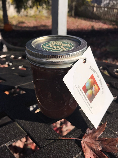 """""""Preserving History"""" Spiced Pear Butter 8 oz."""