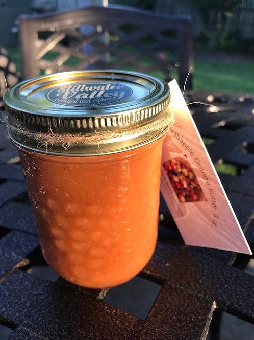 """""""Preserving History"""" Crabapple Orange  Butter 8 oz."""