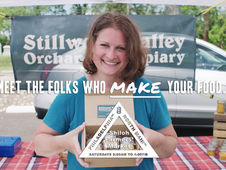Natalie Holding Stillwater Valley Orchard and Apiary's Garlic Spices