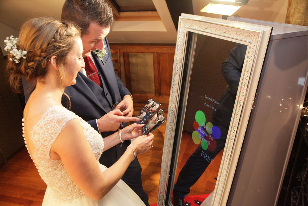 Magic Mirror Wedding