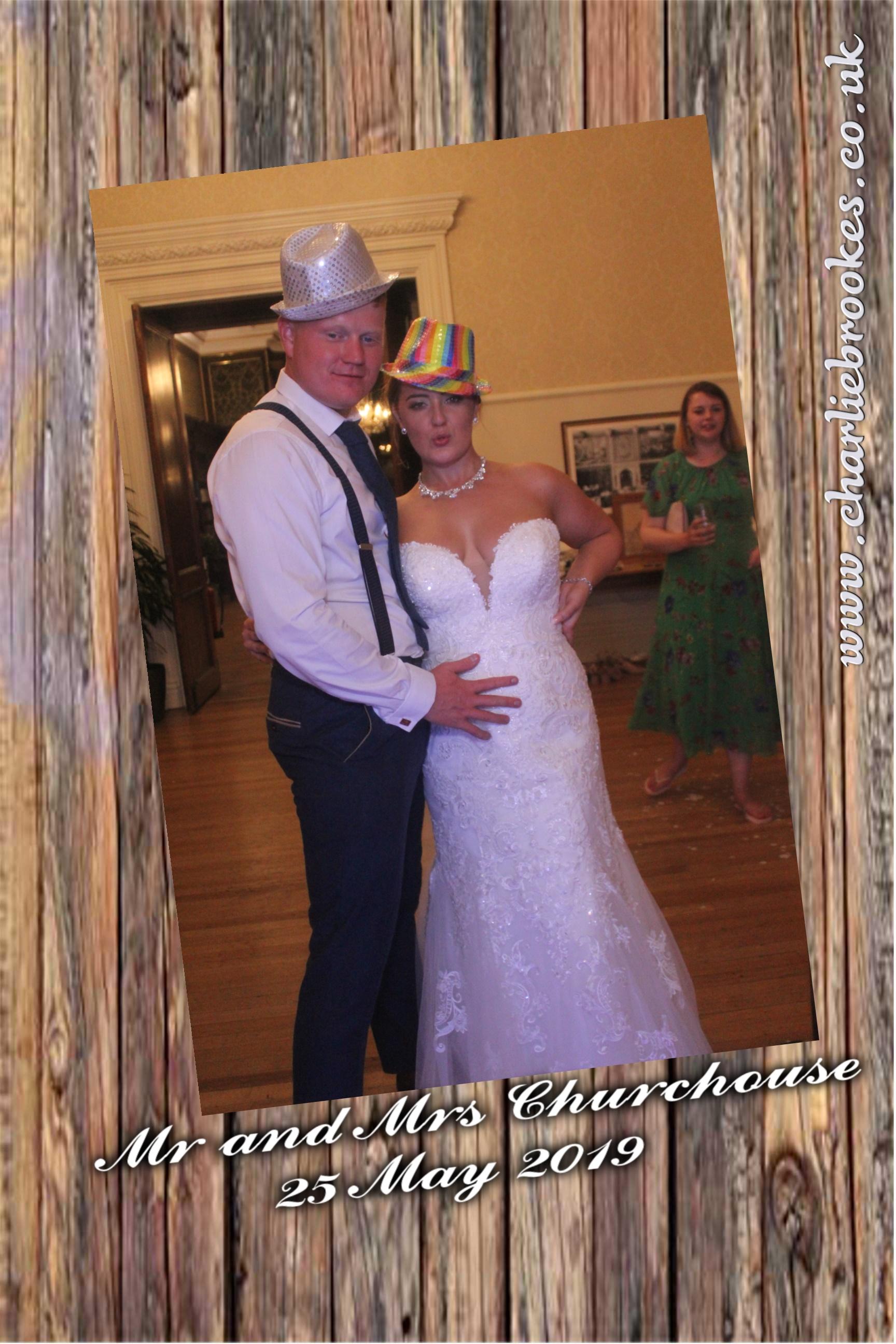 Wooden themed wedding template