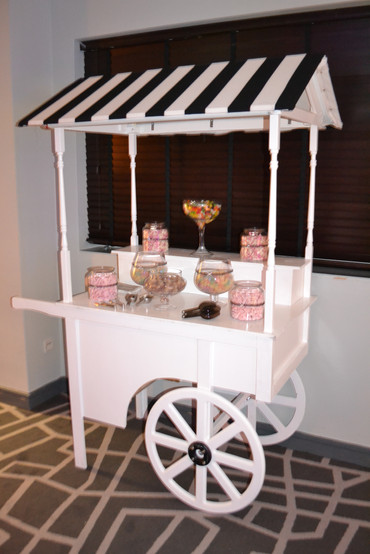 Sweet cart black white hire buy eat candy