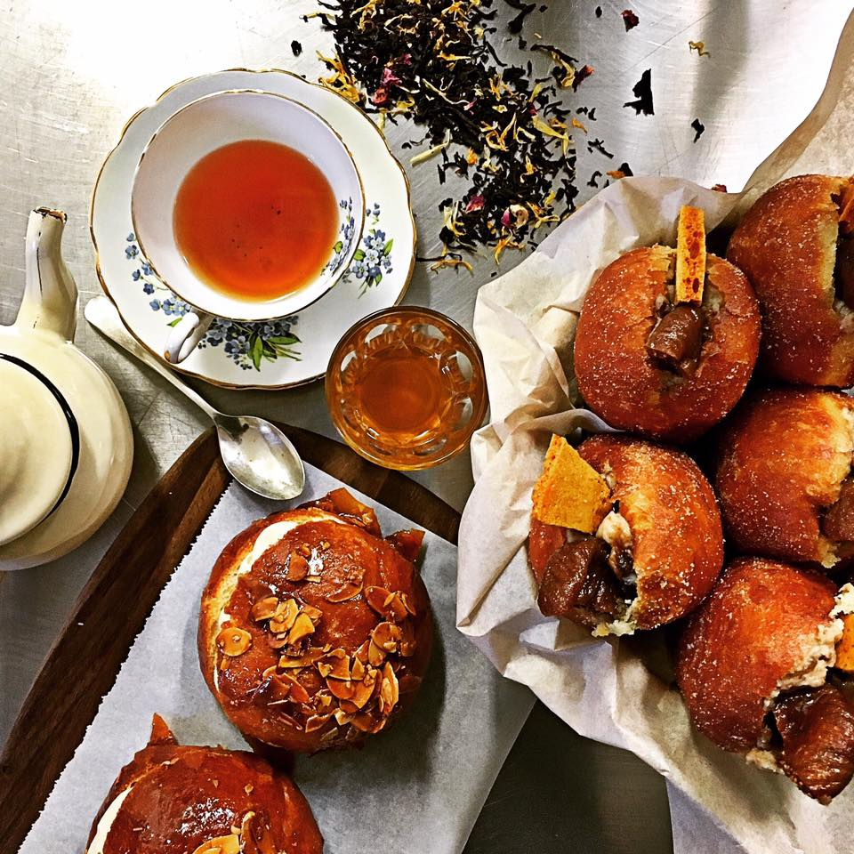organic tea + housemade treats