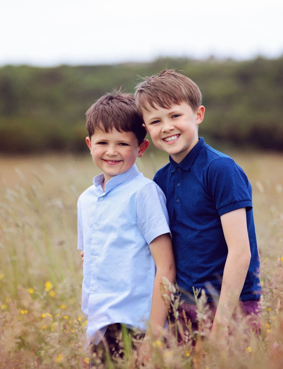 Outdoor Portrait Session with Brothers