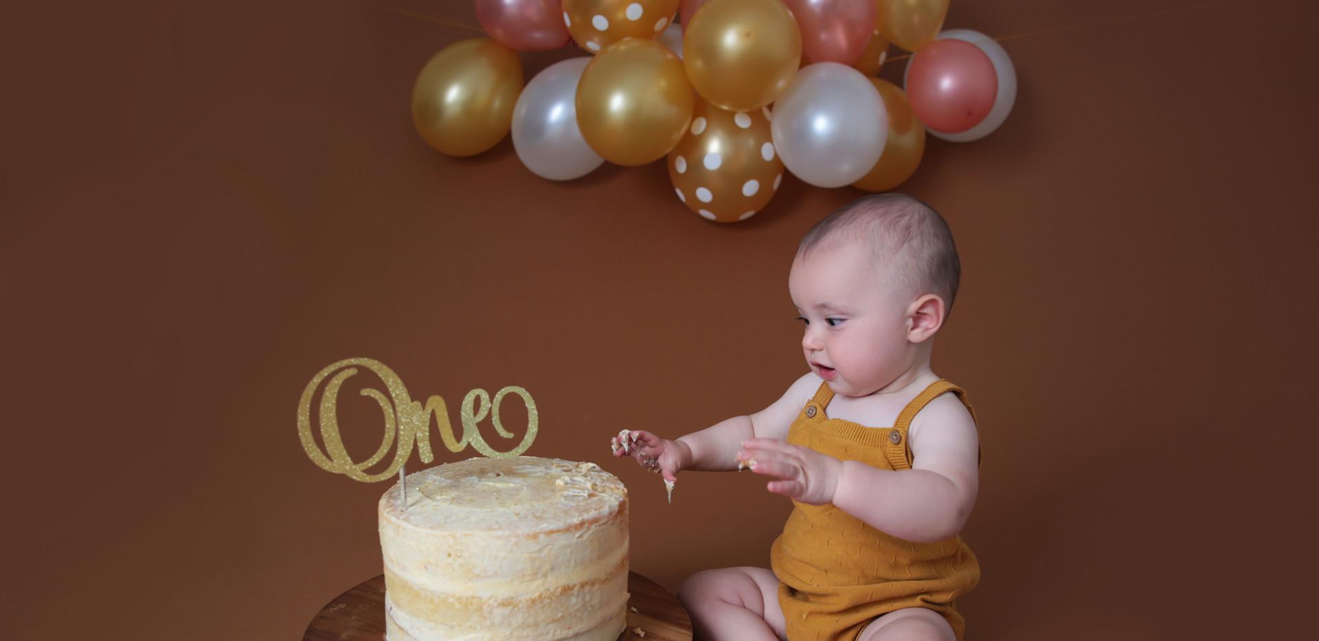 Seb Cake Smash