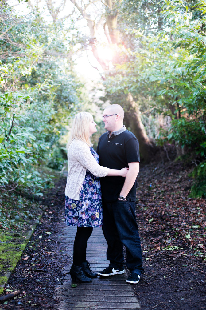 Tom & Emma's Pre- Wedding Shoot  at the Durker Roods Hotel