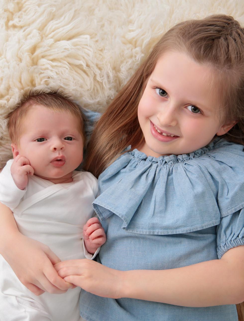 Jude and his big sister Esme