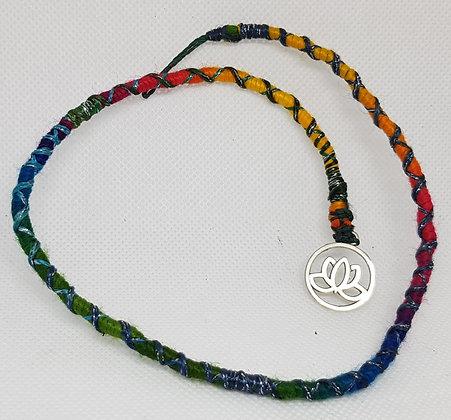 Hairwrap Rainbow Lotus
