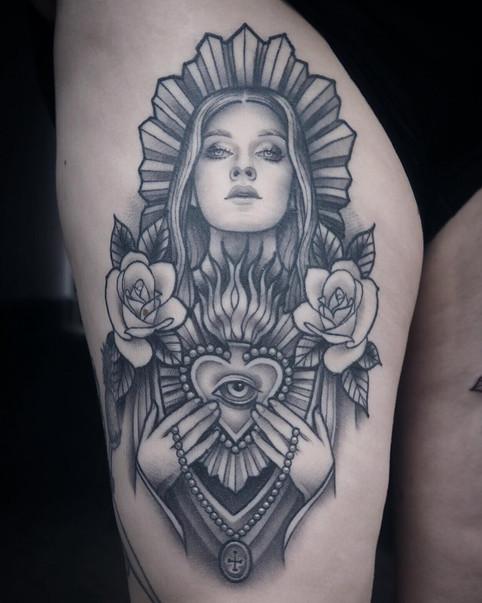 Saint Lady healed