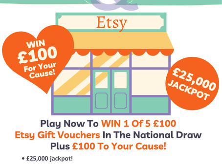 Essex Lottery - Fundraising for PACT.