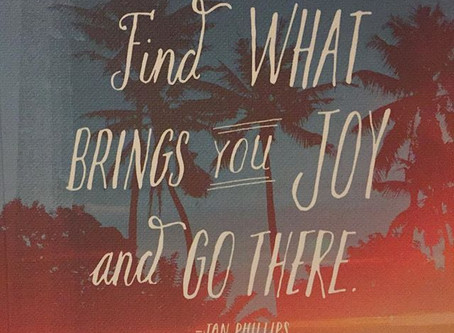 What brings your heart joy?