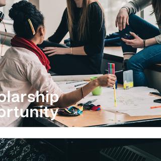 IJNet scholarship opportunity post graphic