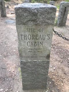 Thoreau's Cabin (near Concord, Massachusetts)