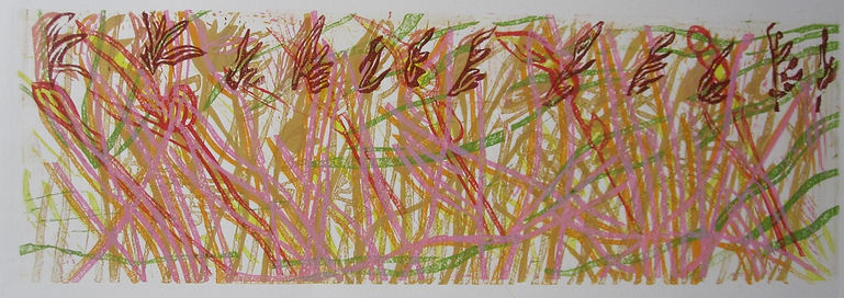 2.Bulrushes2 Linoprint 2019 14x41.jpg