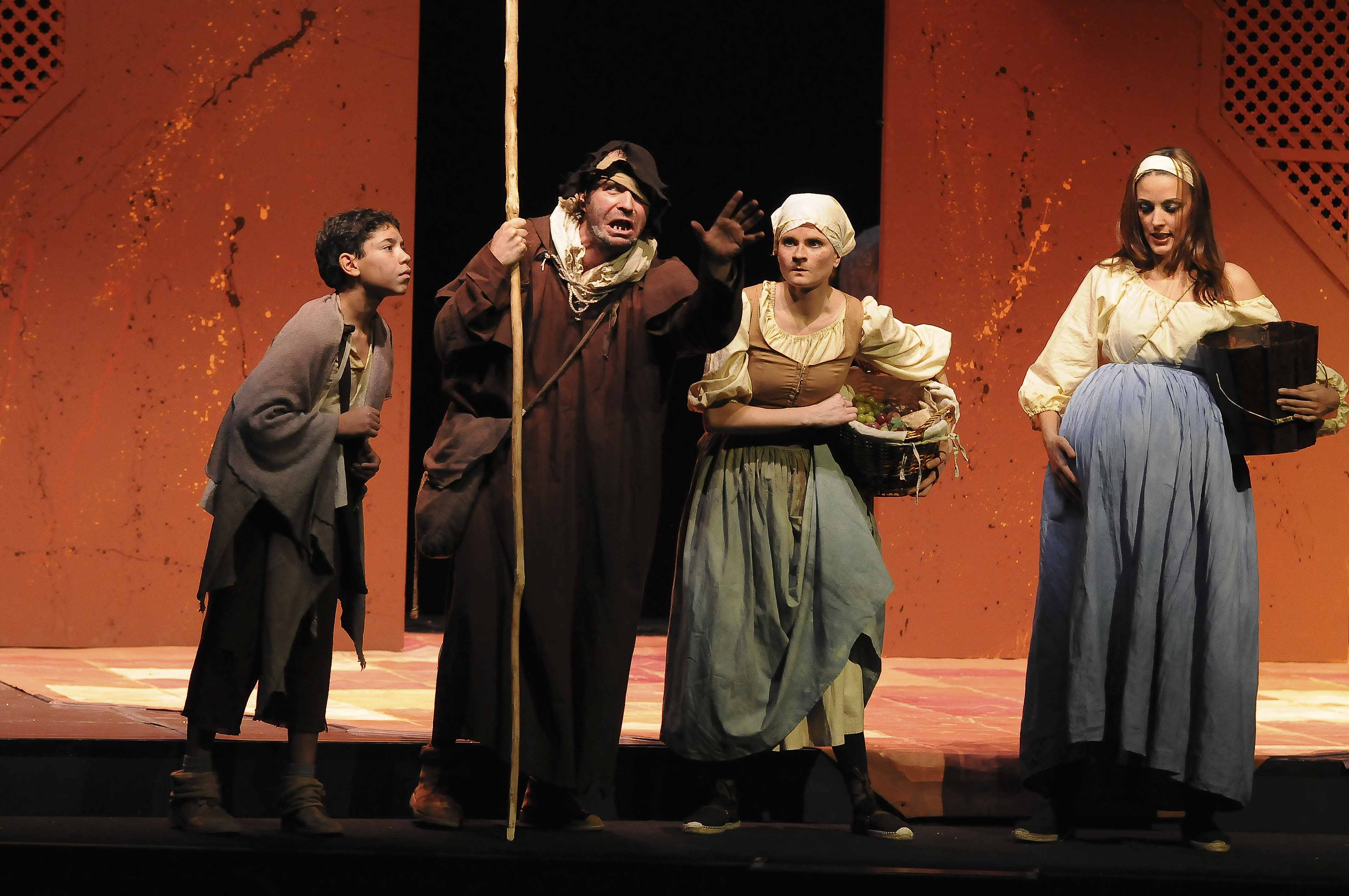 Fotografía Actuación Teatral Lazarillo de Tormes Madrid © Jorge Zorrilla Fotógrafo Madrid
