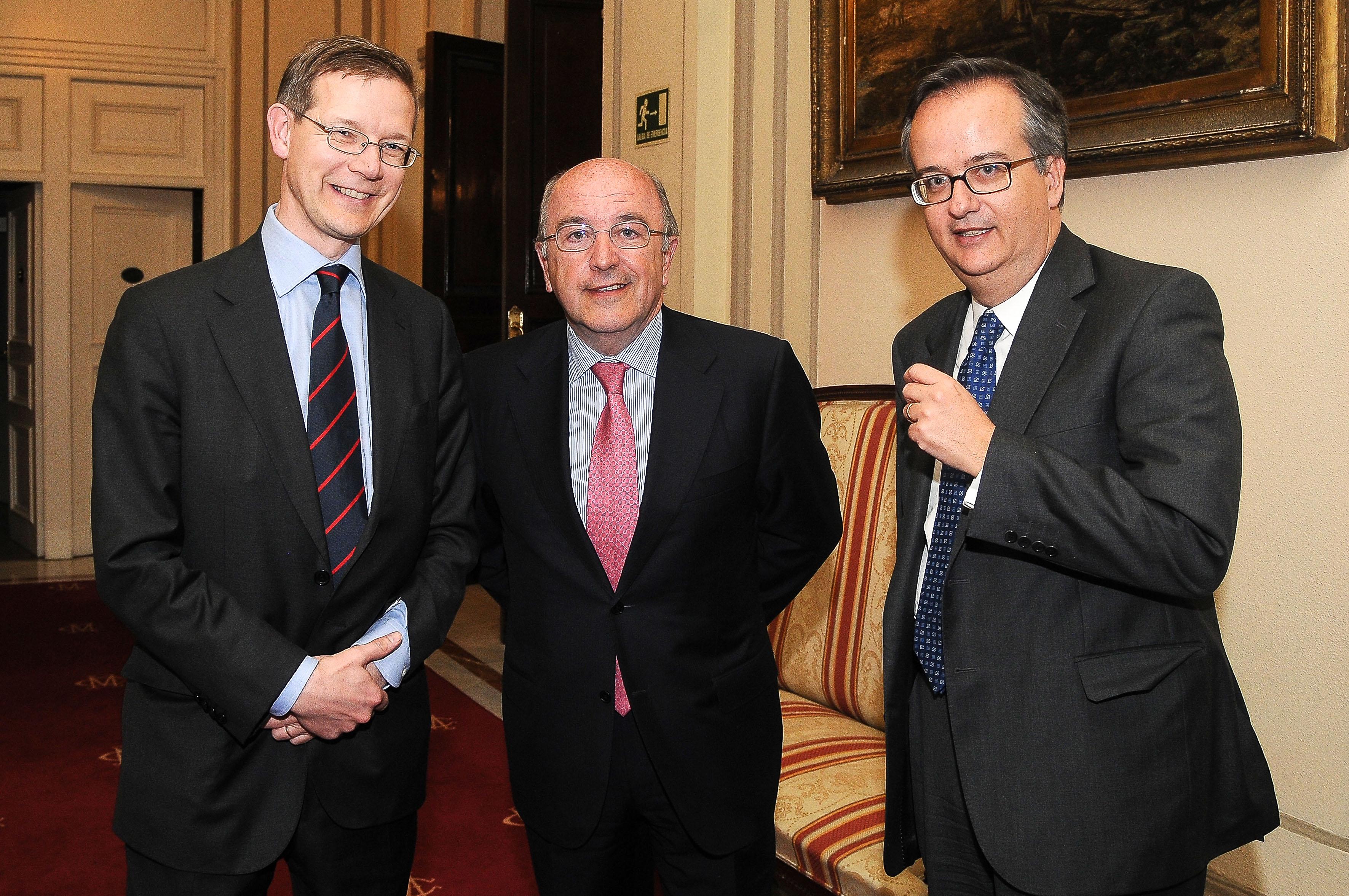 Fotografía de Joaquín Almunia Ex Presidente de la Comunidad Europea © Jorge Zorrilla Fotógrafo Madri