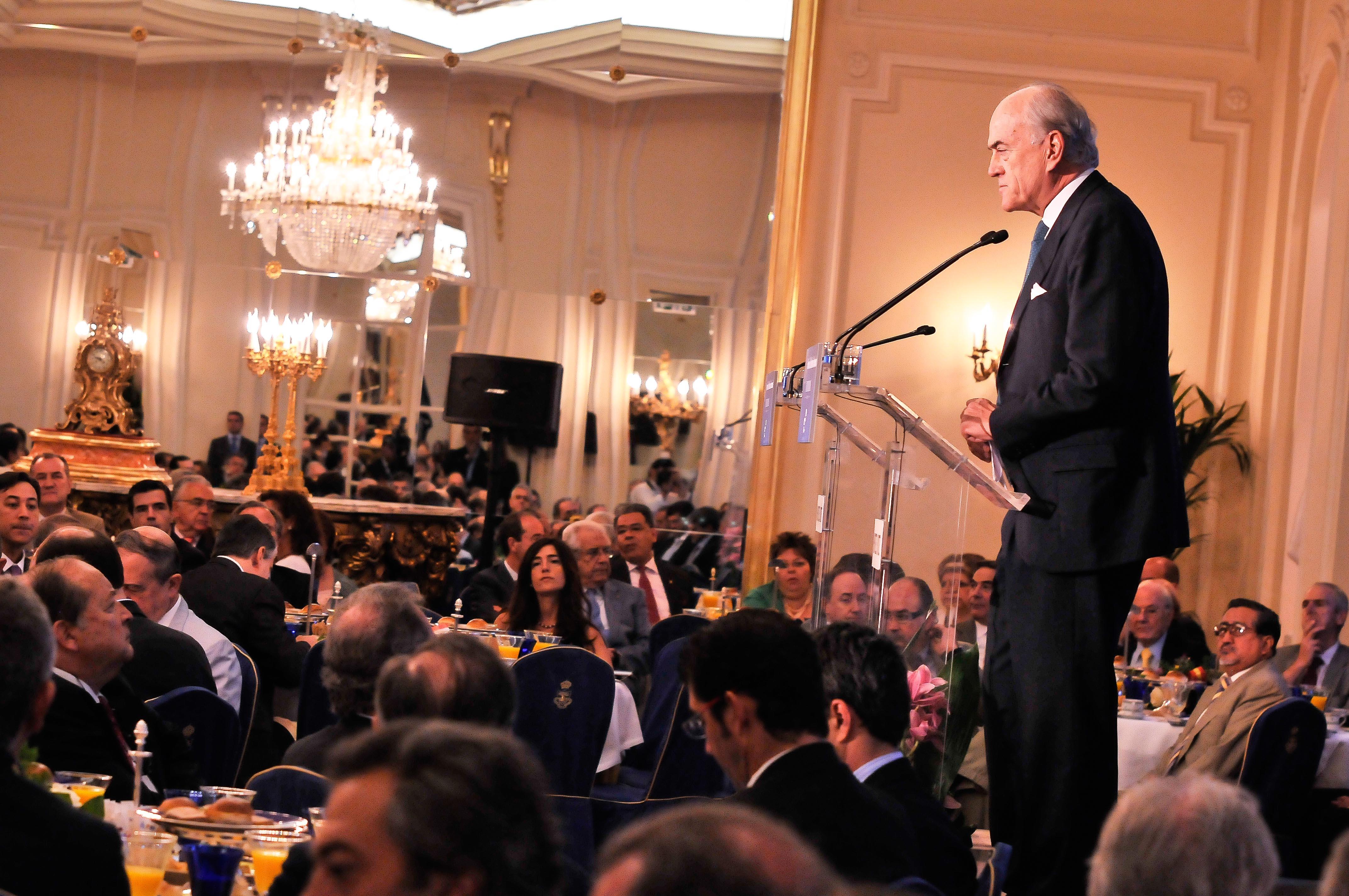 Fotografía El expresidente de FCC, Baldomero Falcones © Jorge Zorrilla Fotógrafo Madrid