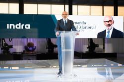 Fernando Abril-Martorell Presidente de Indra © Jorge Zorrilla Fotógrafo