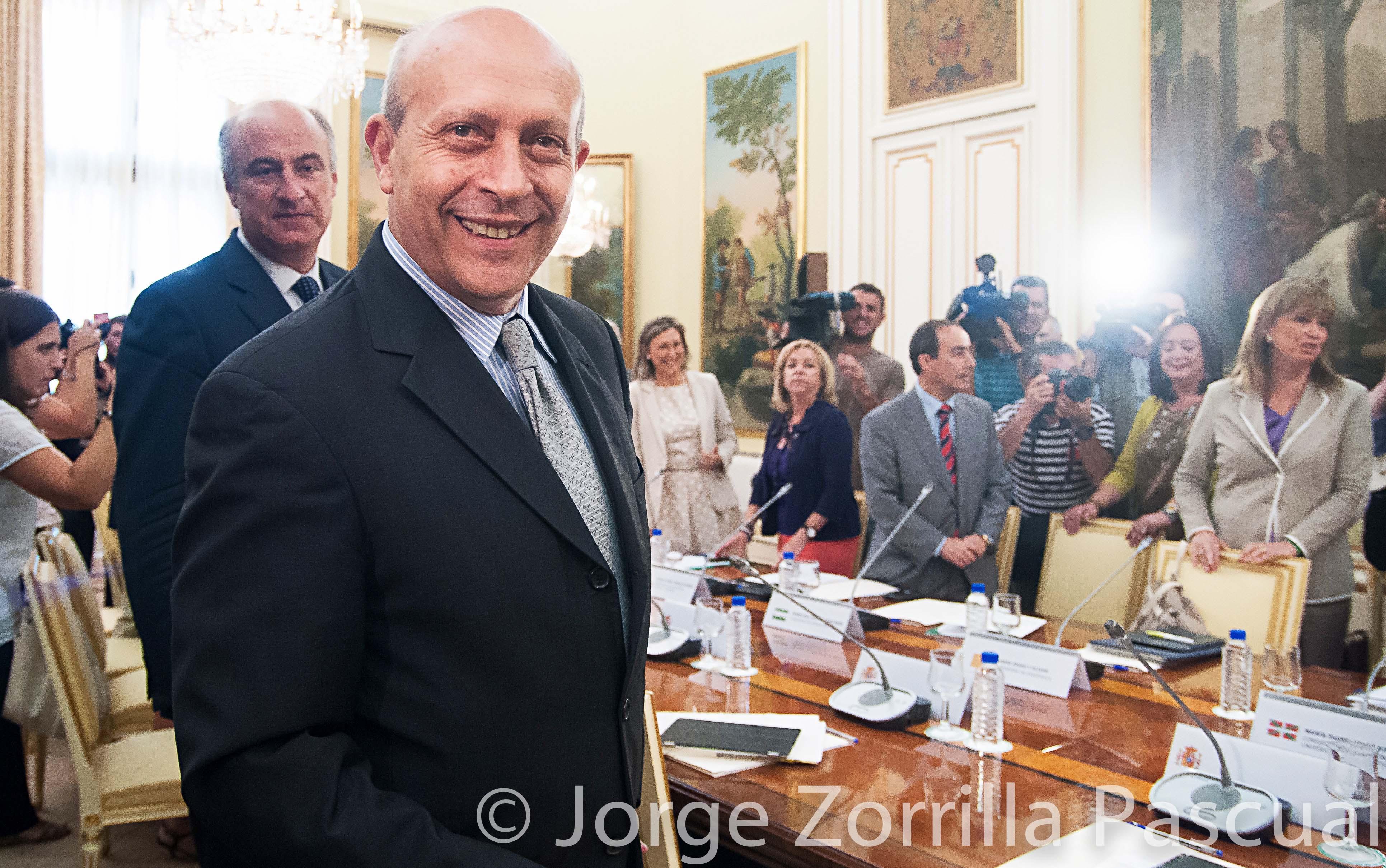 Fotografía José Ignacio Wert ex Ministro de Educación Madrid © Jorge Zorrilla Fotógrafo Madrid