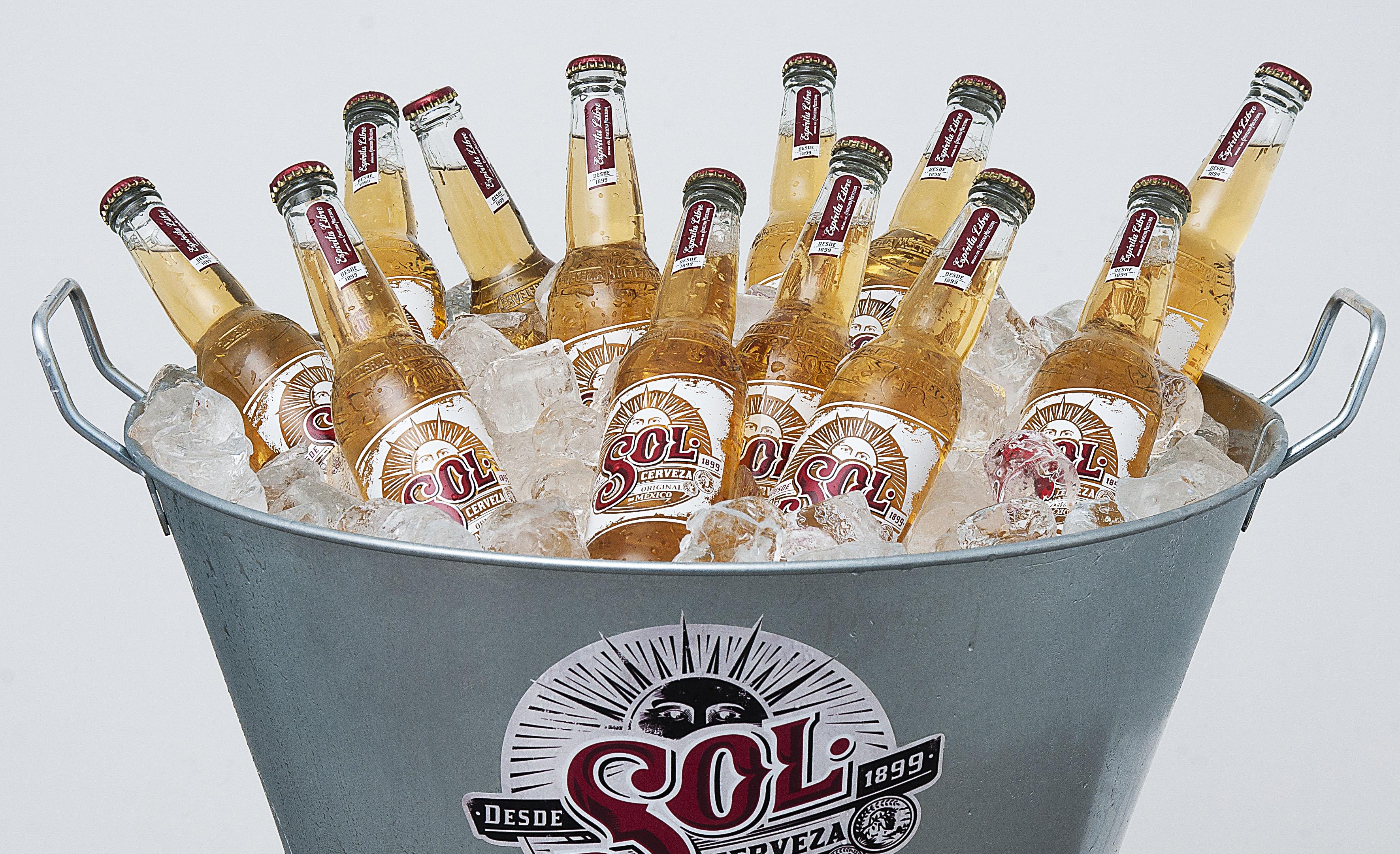 Fotografía Producto Cerveza El Sol © Jorge Zorrilla Fotógrafo Madrid