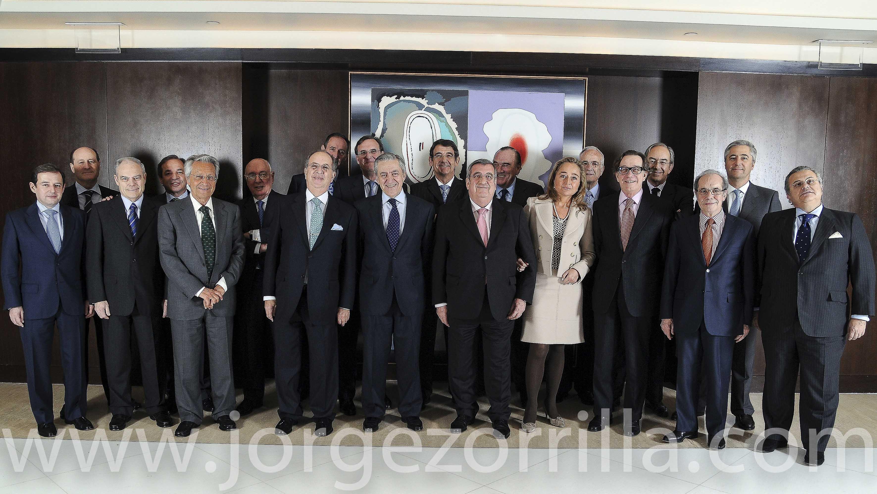 Fotografía Directivos Unión Fenosa © Jorge Zorrilla Fotógrafo Madrid