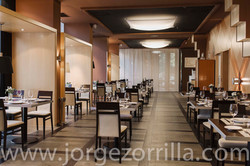 Fotografía Restaurante en Hotel Abba Madrid © Jorge Zorrilla Fotógrafo Madrid