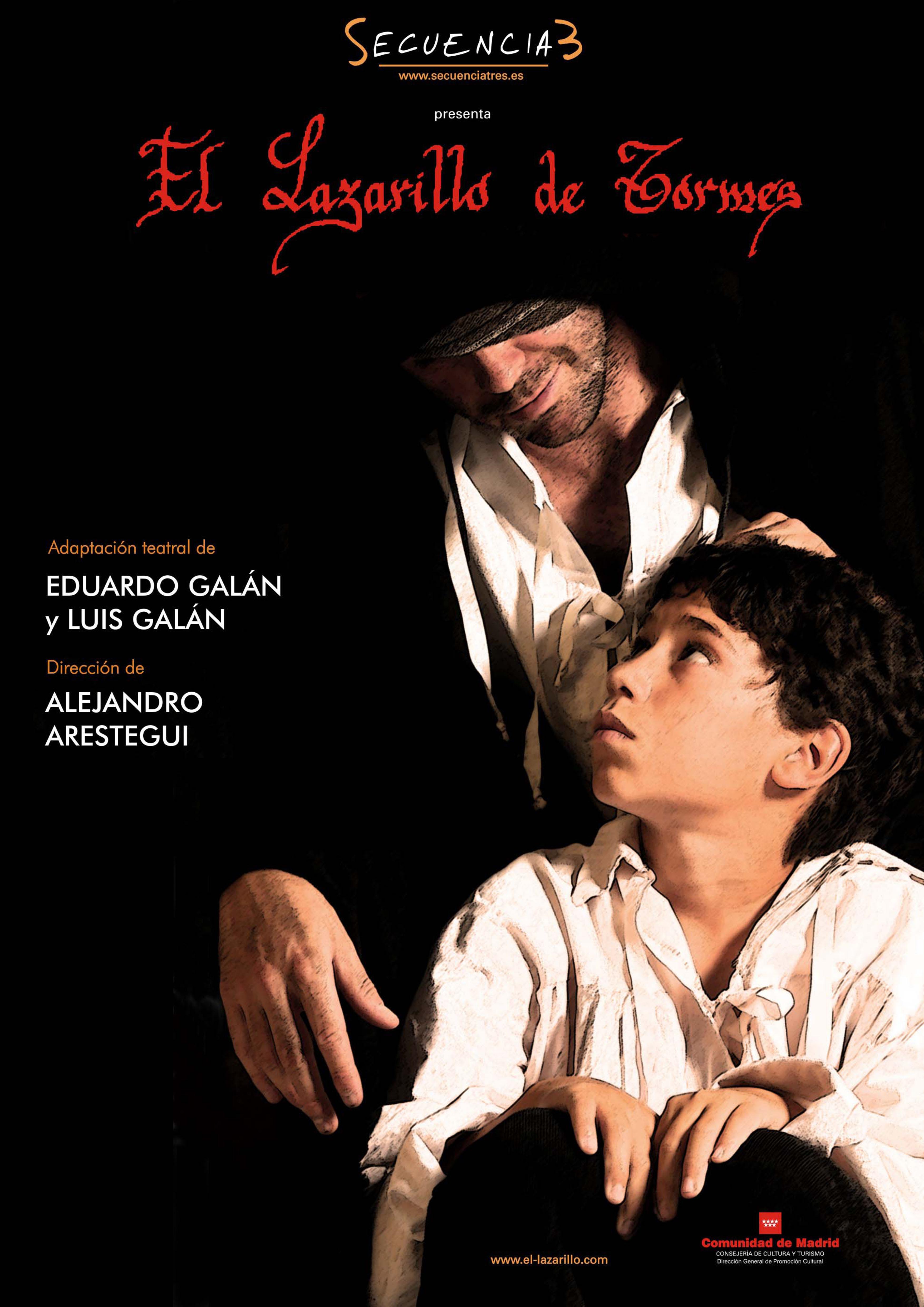 Fotografía Cartel de Teatro Lazarillo de Tormes © Jorge Zorrilla Fotógrafo Madrid
