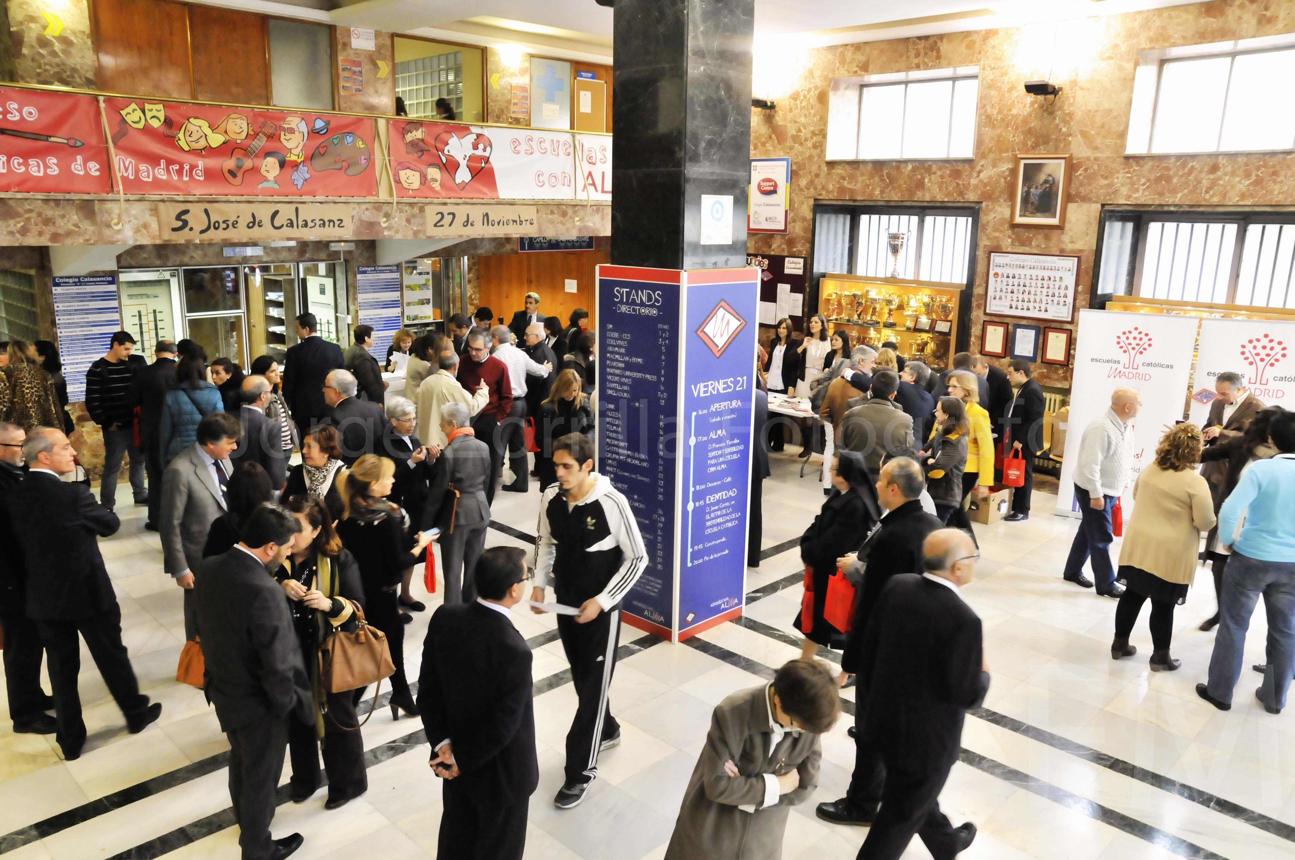 Fotografía Congreso Escuelas Católicas Madrid © Jorge Zorrilla Fotógrafo Madrid