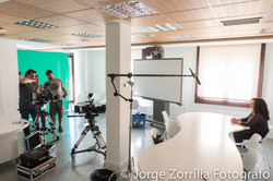 Fotografía Aula de Imagen de Universidad Camilo Jose Cela en Madrid © Jorge Zorrilla Fotógrafo Madri