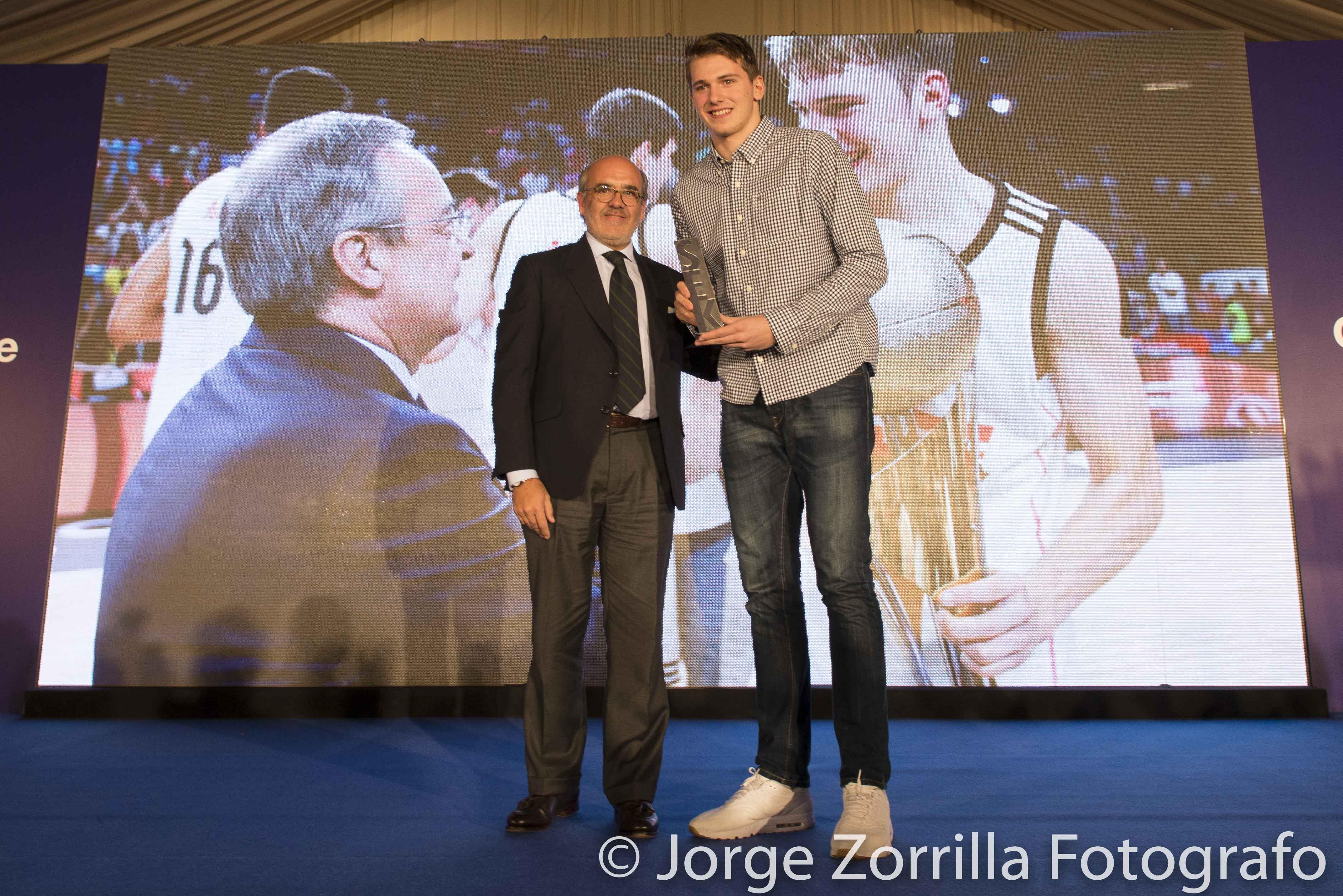 Fotografía de Luka Dončić Dallas Mavericks de la NBA © Jorge Zorrilla Fotógrafo Madrid