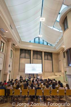 Fotografía de Evento de Educación de la Universidad Camilo Jose Cela © Jorge Zorrilla Fotógrafo Madr