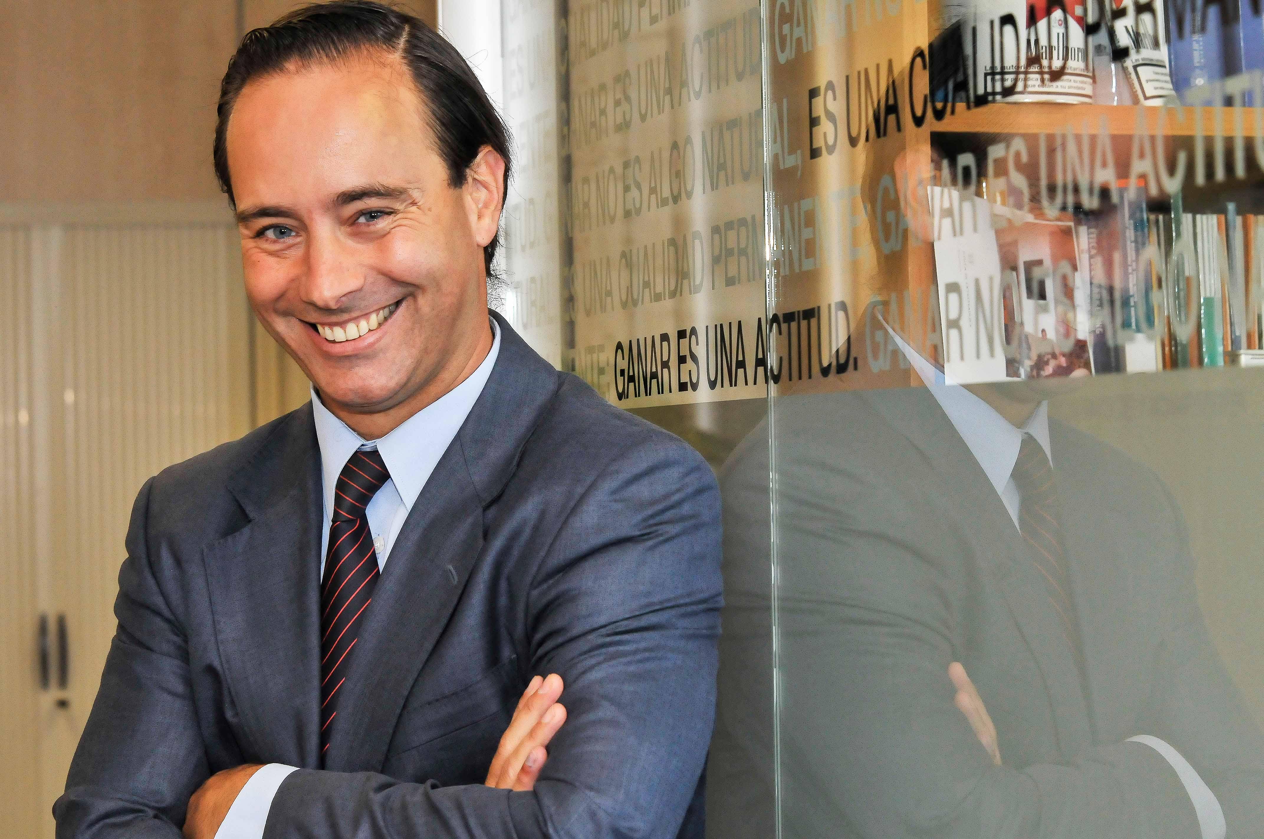 Fotografía Javier Figaredo director de asuntos corporativos de  Philip Morris © Jorge Zorrilla Fotóg