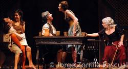 Fotografía Actuación Teatral La Vida en Sueño Madrid © Jorge Zorrilla Fotógrafo Madrid