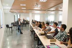 Fotografía Aula de Universidad Camilo Jose Cela en Madrid © Jorge Zorrilla Fotógrafo
